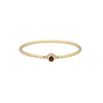 ANNA + NINA Birthstone Ring 19-3M908001G