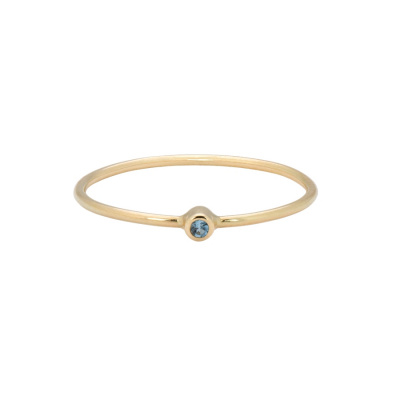 ANNA + NINA Birthstone Ring 19-3M908007G