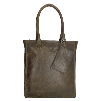 Micmacbags Golden Gate Olive Shopper 17352029