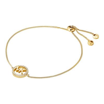 Michael Kors Premium 925 Sterling Zilver Gouden Armband MKC1246AN710 (Lengte : 22.00 cm)
