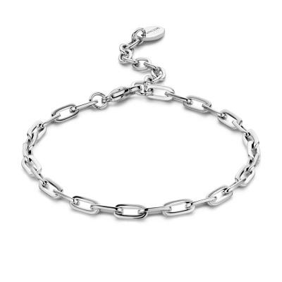 May Sparkle Happiness Senna Zilverkleurige Armband MS320013 (Lengte: 16.50-19.50 cm)