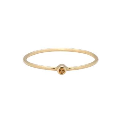ANNA + NINA Birthstone Ring 19-3M908031G