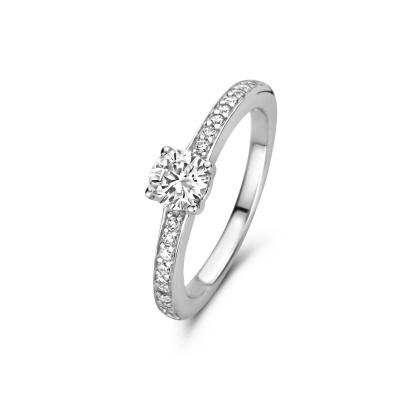 Parte Di Me 925 Sterling Zilveren La Fiore Ibisco Ring PDM1300003 (Sieraden)