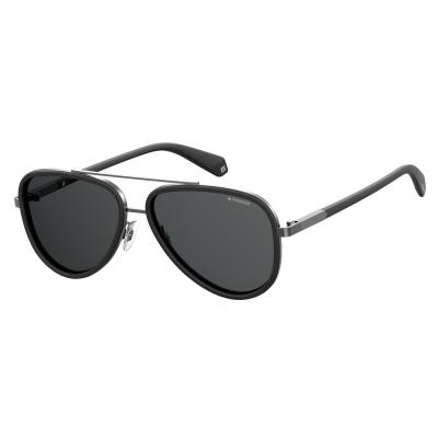 Polaroid Matt Black Polarized Sunglasses PLD-2073S-003-58-M9
