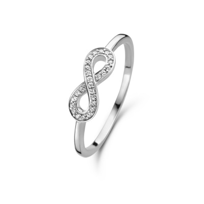 Selected Jewels Julie 925 Sterling Zilveren Infinity Ring SJ300001