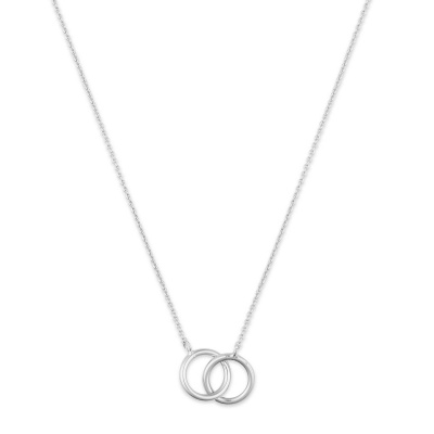 Selected Jewels 925 Sterling Silver Mila Pip Necklace SJ155730006 (Length: 41-45 cm)