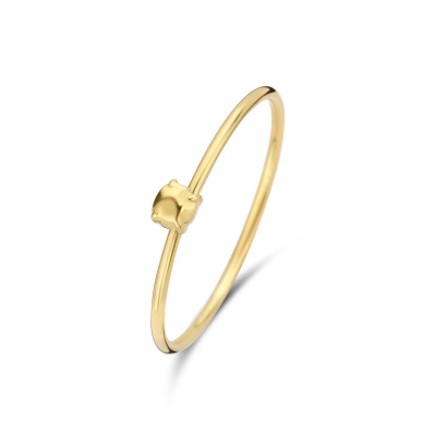 Violet Hamden Sisterhood Stone 925 Sterling Zilveren Goudkleurige Ring VH13027G