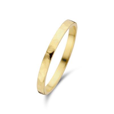 Violet Hamden Sisterhood Moonlit 925 Sterling Zilveren Goudkleurige Ring VH13028G