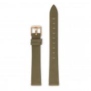Violet Hamden Strap 14mm Olive Moss Green/Gold VH40112